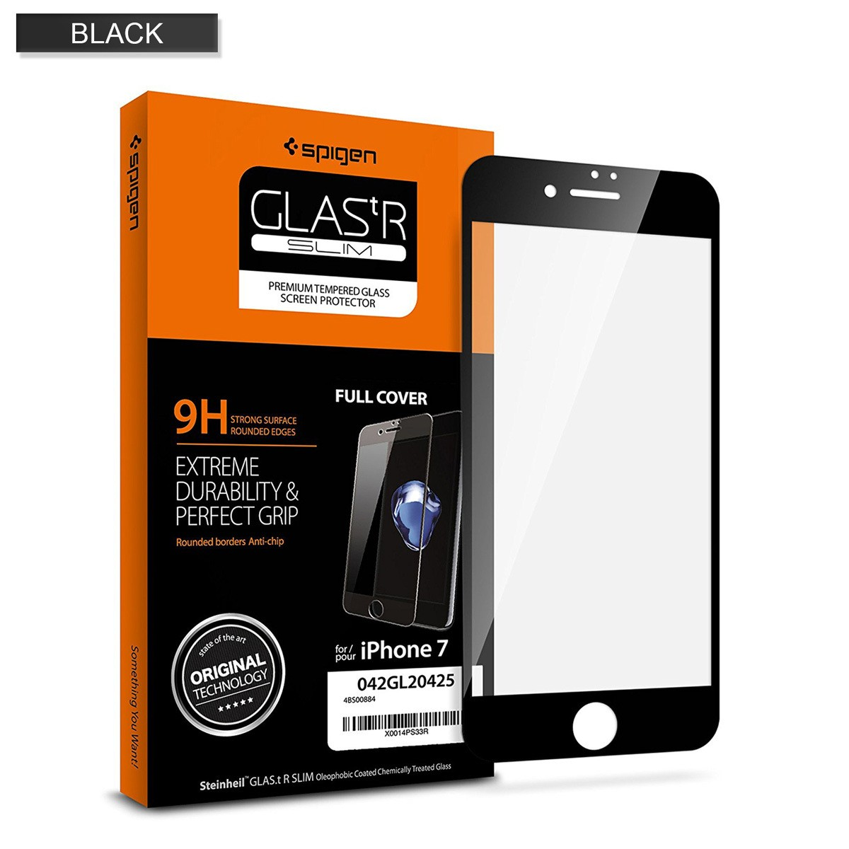 iPhone 7 Screen Protector Full Cover Tempered Glass